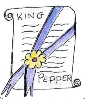 King Pepper's team was purple