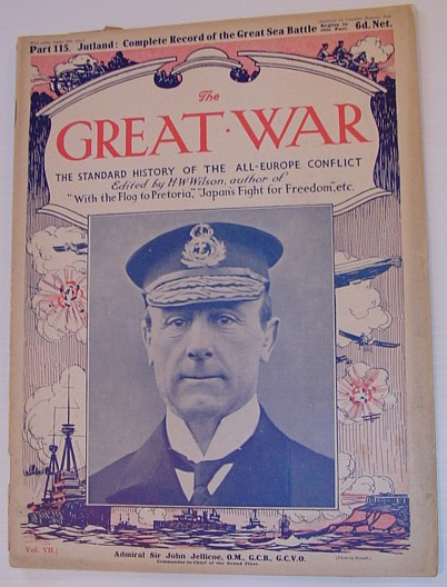 Admiral Jellico who was at the Battle of Jutland