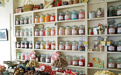 sweet shop or Candy Store