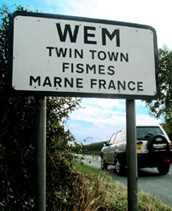 signpost for Wem