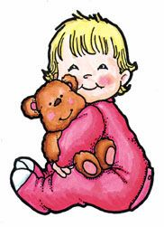 little boy with teddy
